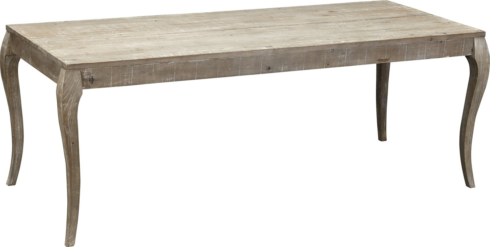 Valerie Reclaimed Pine Wood Dining Table & Reviews