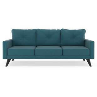 Coyer Oxford Weave Sofa by Corrigan Studio Modern