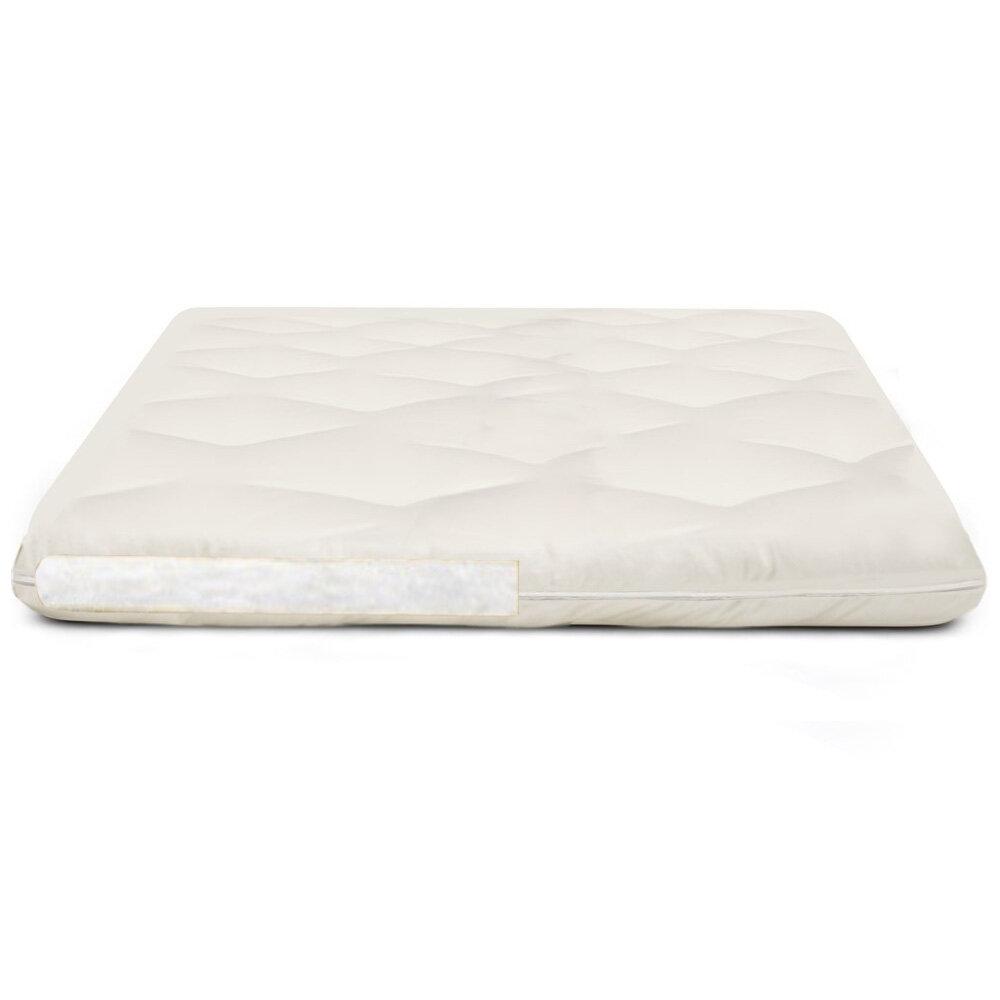 24x71inch Cotton Fluffy Beauty Mattress Topper,Breathable Futon Tatami Mattress Spa Massage Table Protection Pad-Light Tan 60x180cm