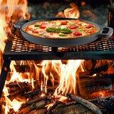 "Classic Cuisine Cast Iron 13"" Pizza Pan"