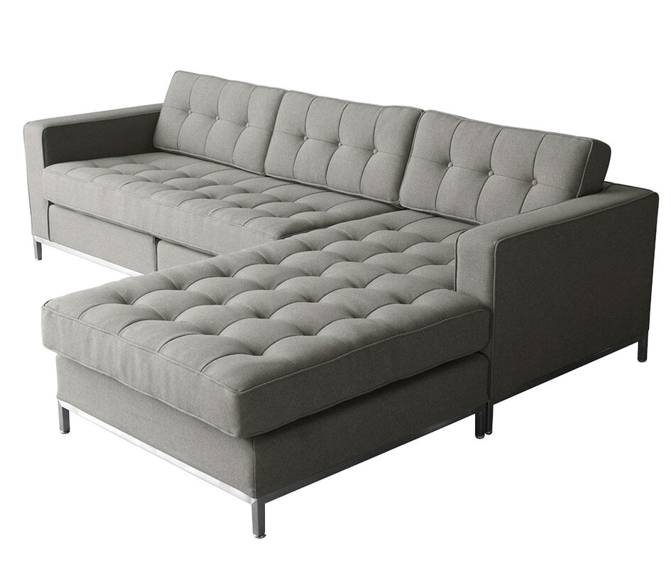 Gus Modern Jane Loft Bi Sectional Sofa Reviews Best 2017  sc 1 st  Sofa Brownsvilleclaimhelp : gus modern jane loft bi sectional - Sectionals, Sofas & Couches