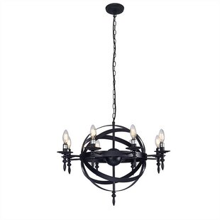 Mercer41 Lakewood 8-Light Geometric Chandelier
