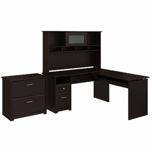 Hillsdale 4 Piece L-Shaped Desk Office Suite by Red Barrel Studio Comparison