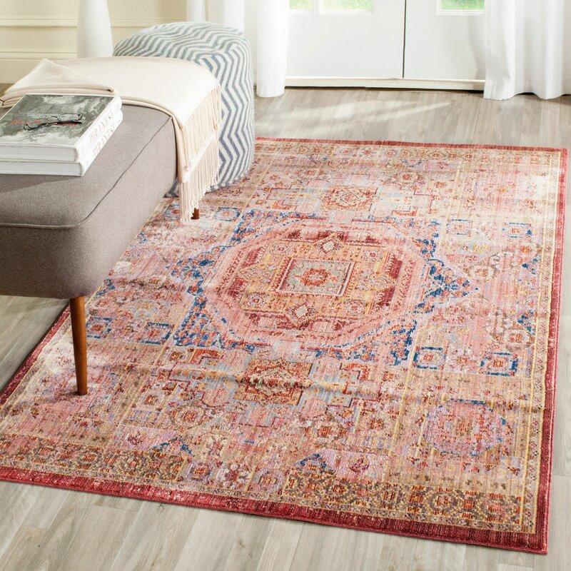 Safavieh Corinne Multi-Coloured Area Rug & Reviews | Wayfair.co.uk