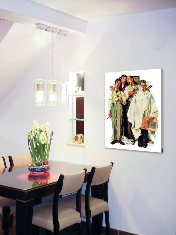 Living Room Quartet marmont hill 'barbershop quartet'norman rockwell painting