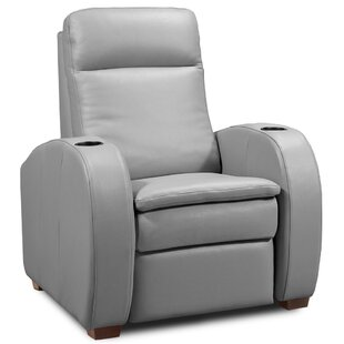 Latitude Run Leather Home Theater Individual Seating