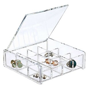 Square Cosmetic/Jewelry Box By Sweet Home Collection