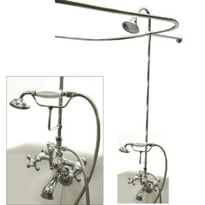 clawfoot tub and shower package. Vintage Clawfoot Tub Package Bathtub Faucets You ll Love  Wayfair