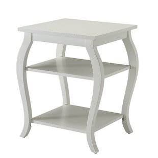 Jusino 2-Shelf End Table by Alcott Hill