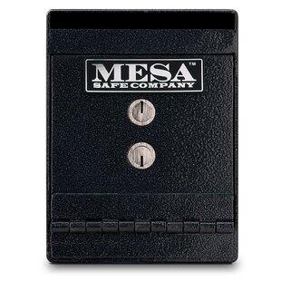 Mesa Safe Co. Key Lock Undercounter Depository Safe