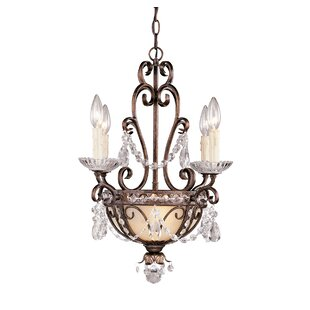 Astoria Grand Heid 6-Light Candle Style Chandelier