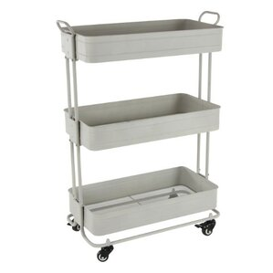 Caroline Metal Rolling Storage Bar Cart by August Grove