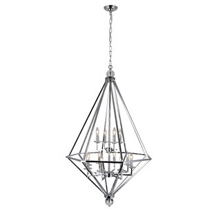 Calista 12-Light Geometric Chandelier by CWI Lighting