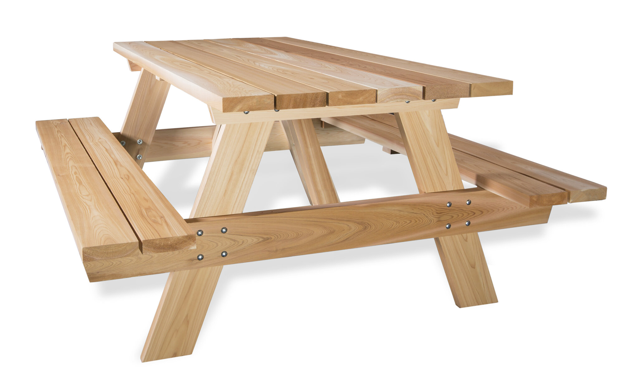 All Things Cedar Cedar Picnic Table Wayfair