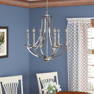 Top Brands of Rockville 6-Light Chandelier By Darby Home Co