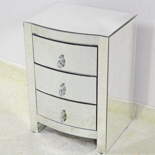 Ralphio 3 Drawer Nightstand
