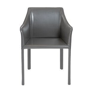 Colten Genuine Leather Upholstered Dining Chair