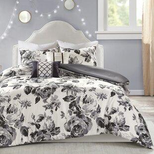 Cotter Floral Print Duvet Cover Set