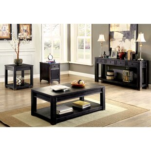 Xanthe 3 Piece Coffee Table Set by Red Barrel Studio
