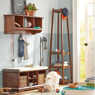 Alcott Hill Crannell 3 Tier Tower Shoe Coat Rack