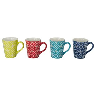 Lindsey Fashion Mug Set (Set of 4)