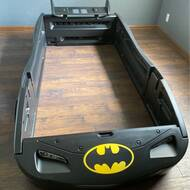 Delta Children Dc Comics Batmobile Batman Twin Car Toddler Bed Reviews Wayfair
