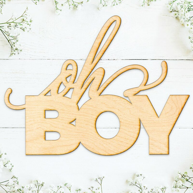 Ebern Designs Oh Boy Wall Décor & Reviews   Wayfair