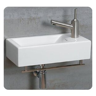 wall mounted sinks for small bathrooms. save to idea board. whitehaus collection. isabella ceramic 20\ wall mounted sinks for small bathrooms l