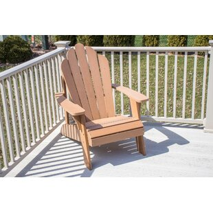 Horncastle Composite Wood Outdoor Adirondack Chair