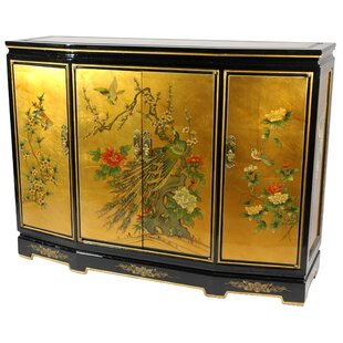 Maurice Slant Front Accent Cabinet by World Menagerie