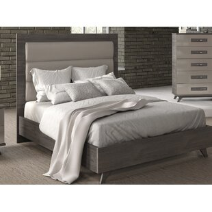Brayden Studio Cowden Upholstered Panel Bed