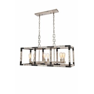 17 Stories Vianey 6-Light Kitchen Island Pendant