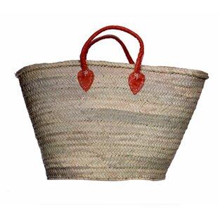 Best Price Market Basket with Straps By Casablanca Market