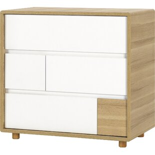 Comer 3 Drawer Chest Of Drawers By Isabelle & Max