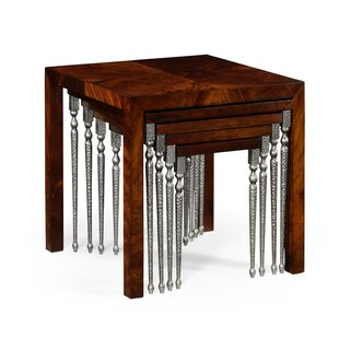 5 Piece Nesting Tables by Jonathan Charles Fine Furniture