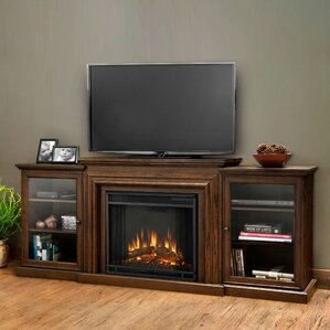 Frederick 72  Entertainment Centers With Fireplaces