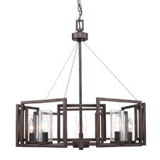 Sean 5-Light Candle-Style Chandelier