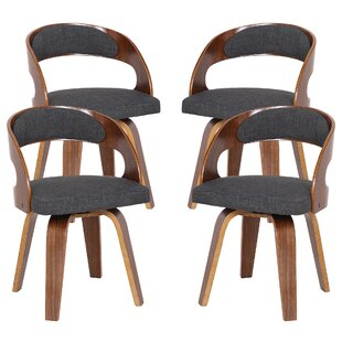 Saxton Upholstered Dining Chair - set of 4 (Set of 4)
