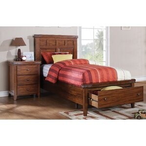 Twin Platform Configurable Bedroom Set by Loon Peak