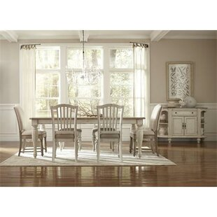 Quevillon Solid Wood Dining Chair (Set of 2)