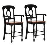 Ziggy Napoleon 24 Bar Stool (Set of 2) by Rosalind Wheeler