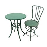 Kaler Metal 3 Piece Bistro Set