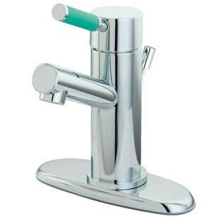 Green Eden Bathroom Faucet with Cover Plate ByKingston Brass