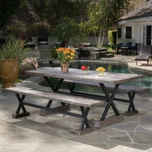 Trent Austin Design Besni 3 Piece Dining Set