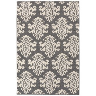 Stein Le Fleur Tufted 4 x 6 Beige/Gray Indoor/Outdoor Area Rug