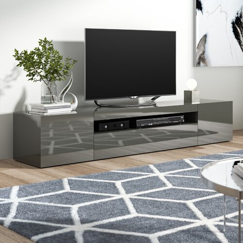 """Mariella TV Stand for TVs up to 88"""" Zipcode Design"""