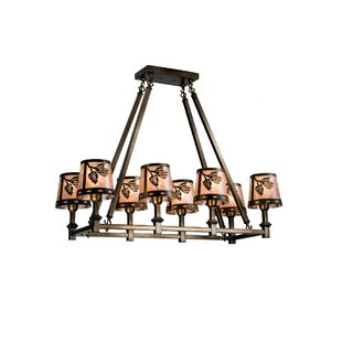 Meyda Tiffany 8-Light Kitchen Island Pend..