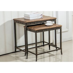 2 Piece Nesting Tables by !nspire