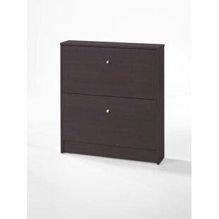 Great choice Ridgley 2 Drawer Shoe Storage Cabinet By Rebrilliant