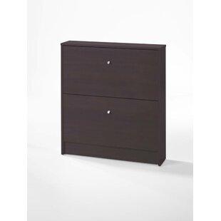 Ridgley 2 Drawer Shoe Storage Cabinet